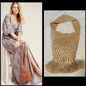 NWOT Anthro Barbara Crocheted Bag